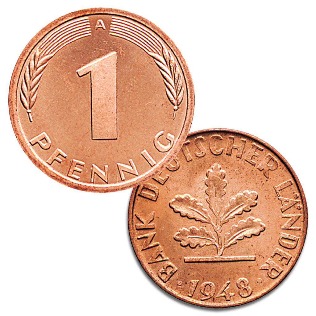 21 Juni 1948 Einführung Der Mark In Der Späteren Bundesrepublik