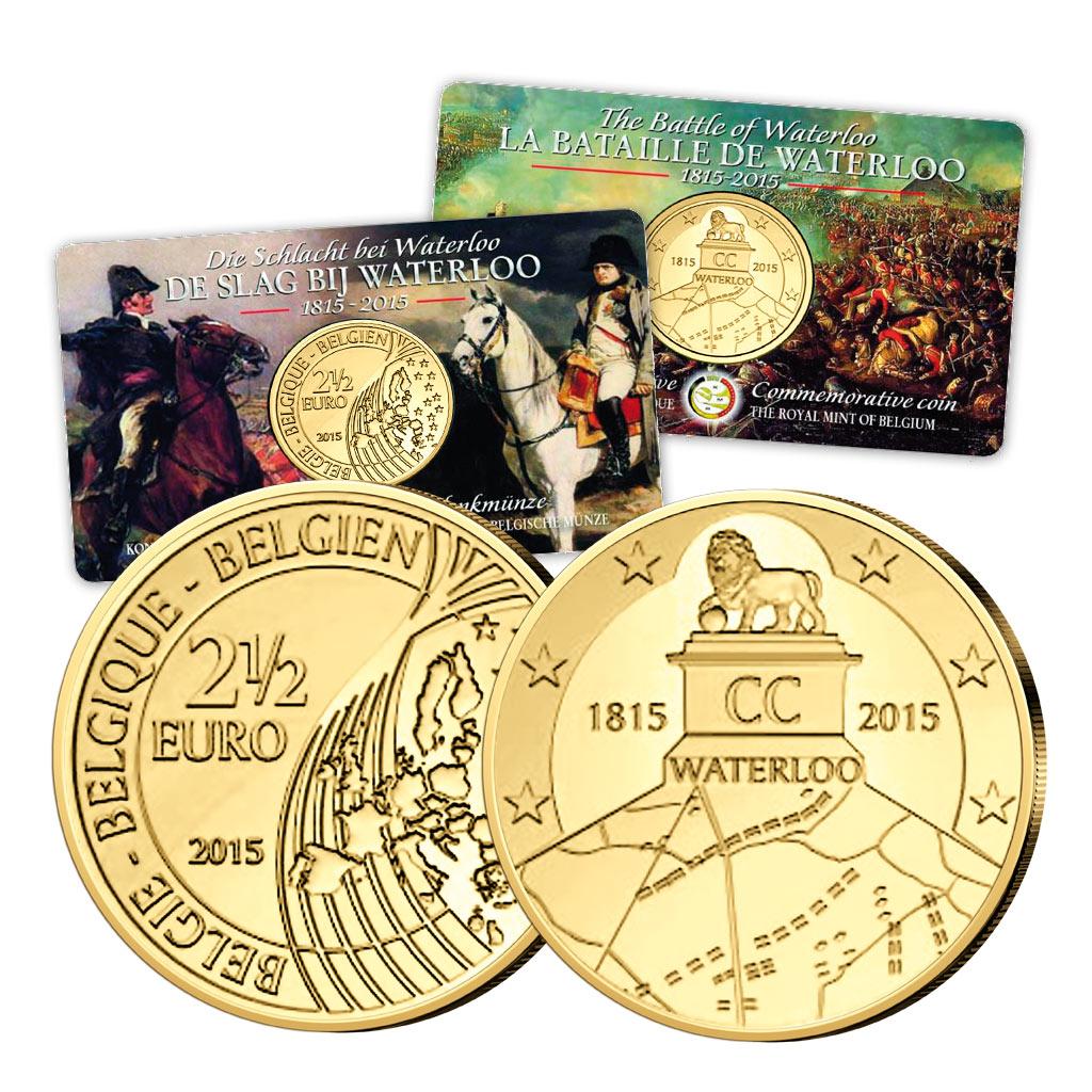 18 Juni 1815 Schlacht Bei Waterloo Primus Münzen Blog
