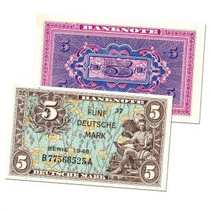 BRD 5 Deutsche Mark 1948 Bank Deutscher Länder, Rosenberg-Nr. 236