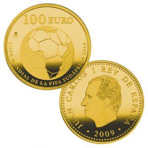Spanien 100 Euro 2009, 999er Gold, 6,75g, Ø 23mm, PP, Auflage: 6.000