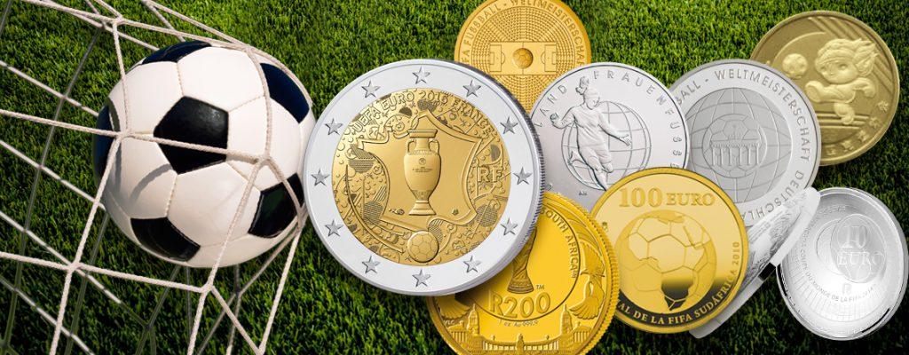 Aus Anlass der EM in Frankreich – Fußballmünzen, Fußballersprüche
