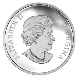 Gemeinsame Rückseite Kanada 10 Can$ 2016, 999,9er Silber, 15,87g, Polierte Platte, Auflage: 12.500