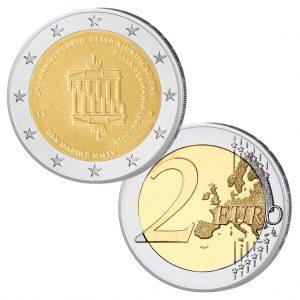 San Marino 2 Euro-Gedenkmünze 2015 – 25 Jahre Deutsche Einheit
