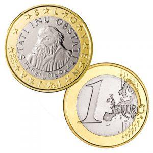 Slowenien 1 Euro-Kursmünze 2008