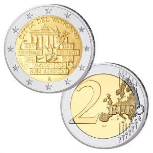 Vatikan 2 Euro-Gedenkmünze 2014 – 25 Jahre Berliner Mauerfall