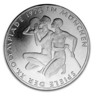 BRD 10 DM Olympische Sommerspiele 1972 in München/Sportlerin & Sportler