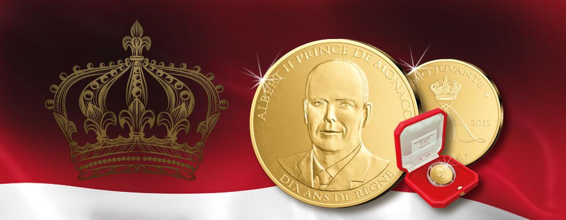 12. Juli 2005 – Albert II. wird in Monaco als Nachfolger seines gestorbenen Vaters Rainier III. inthronisiert