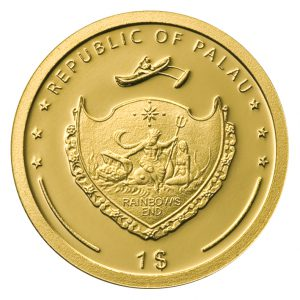 Wertseite der Münze