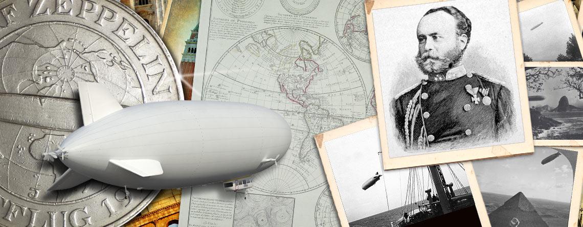 24. Juli 1931 – von Friedrichshafen am Bodensee aus startet das Luftschiff Graf Zeppelin zur Polarfahrt