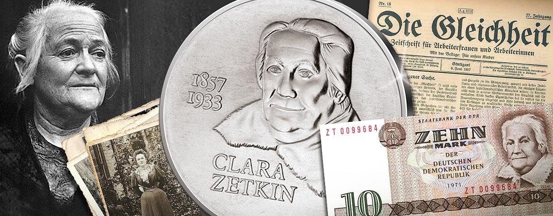 5. Juli 1857 – Clara Zetkin wird geboren
