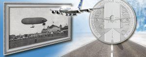 """10. Juli 1909 – die erste """"Internationale Luftfahrtausstellung"""" wird eröffnet"""