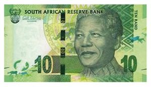 "Südafrika 10 Rand Banknote 2012 ""Free Mandela"""