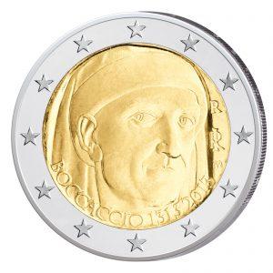 Italien 2 Euro-Gedenkmünze 2013 - 700. Geburtstag von Giovanni Boccaccio
