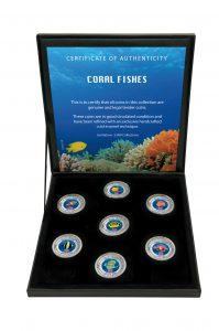 Die schönsten Korallenfische - Münzen-Kollektion
