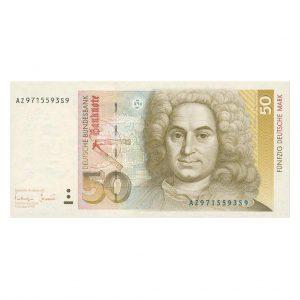 BRD 50 DM Banknote Rosenberg.Nr. 293