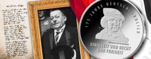 11. August 1922 - Reichspräsident Friedrich Ebert bestimmt das Lied der Deutschen zur Nationalhymne des Deutschen Reiches