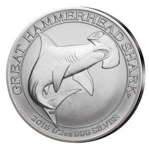 Australien 50 Cents 2015, 999er Silber, 1/2 Unze (15,5 g), Ø 32 mm.