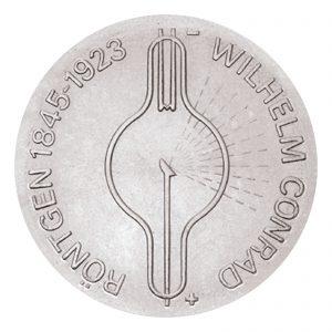 DDR 5 Mark 1970 125. Geburtstag Wilhelm Conrad Röntgen