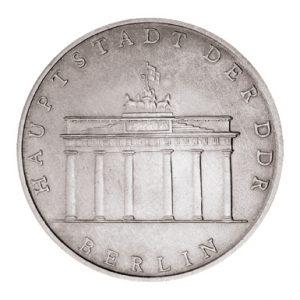 DDR 5 Mark 1971-1990 Berlin, Hauptstadt der DDR, Brandenburger Tor