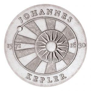 DDR 5 Mark 1971 400. Geburtstag Johannes Kepler