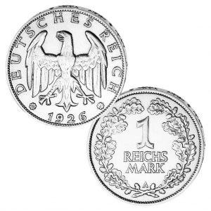 Deutsches Reich - Weimarer-Republik 1 Reichsmark 1925-1927, Jaeger 319