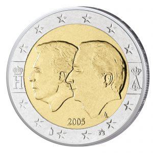 Belgien 2 Euro Sondermünze 2005 – Wirtschaftsunion
