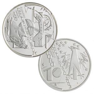 10 Euro Münzen aus Deutschland 2003