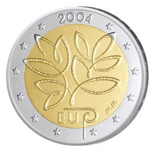 Finnland 2 Euro-Sondermünze 2004 - Erweiterung der Europäischen Union