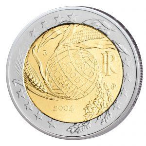 Italien 2 Euro-Sondermünze 2004 - 50 Jahre Welternährungsprogramm