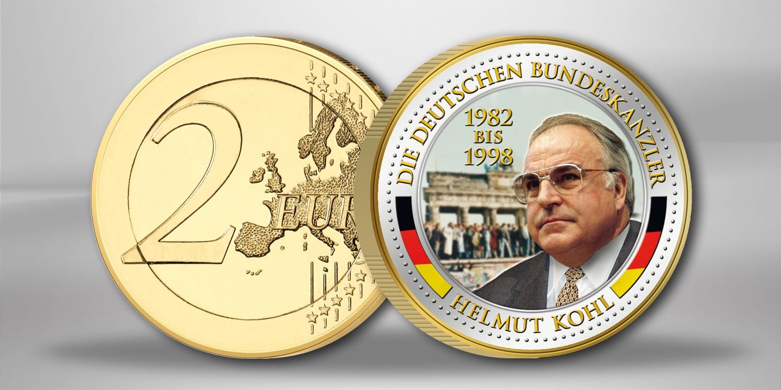 22 September 1984 Kohl Und Mitterrand In Verdun Primus Münzen Blog