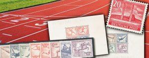 Vor 80 Jahren: Das olympische Jahr 1936 in der Philatelie