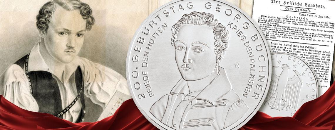17. Oktober 1813 - Georg Büchner wird geboren