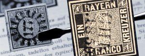 1. November 1849 – die erste deutsche Briefmarke erscheint