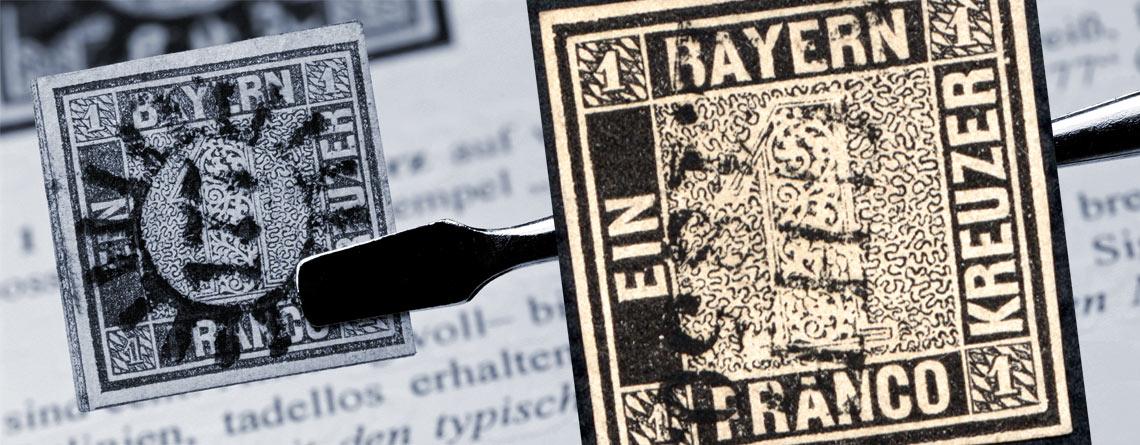 1 November 1849 Die Erste Deutsche Briefmarke Erscheint Primus