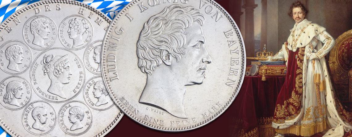 13. Oktober 1825 - Ludwig I. wird König von Bayern