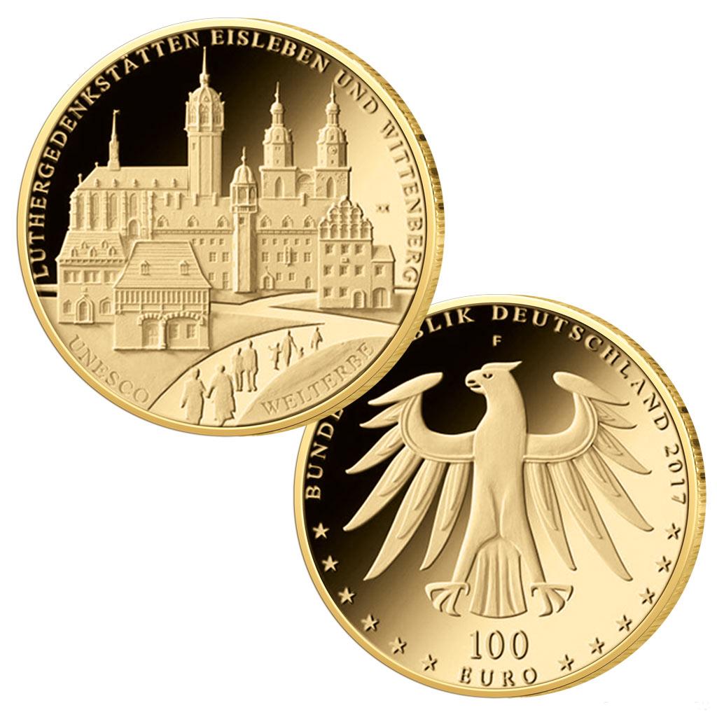 500 Jahre Reformation Reformation Als Numismatisches Thema