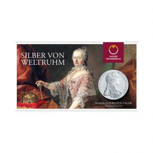 Maria Theresien Taler in Polierte Platte (offizieller Blister der Austrian Mint)