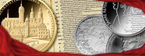500 Jahre Reformation – Reformation als numismatisches Thema, Luther etc. auf Münzen