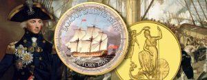 21. Oktober 1805 – Schlacht von Trafalgar, Tod des siegreichen Admiral Lord Nelson