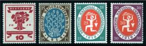 1919 wird in Weimar die Nationalversammlung eröffnet – Deutsches Reich Mi.Nr. 107/110