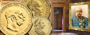 Kaisergold Franz Joseph I. – modernes Gold mit historischen Münzbildern: Österreichs Handelsgoldmünzen