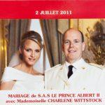 Monaco offizieller Kursmünzensatz 2011 Hochzeit