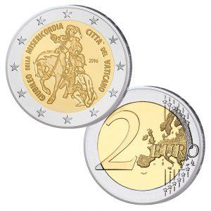 Vatikan 2 Euro-Gedenkmünze 2016 Jahr der Barmherzigkeit