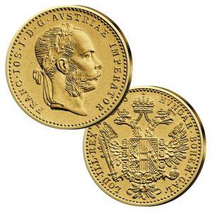 1fach Dukat, Österreich - Handelsgoldmünze Jahreszahl 1915, 986er Gold, 3,491g, Ø 19,75mm