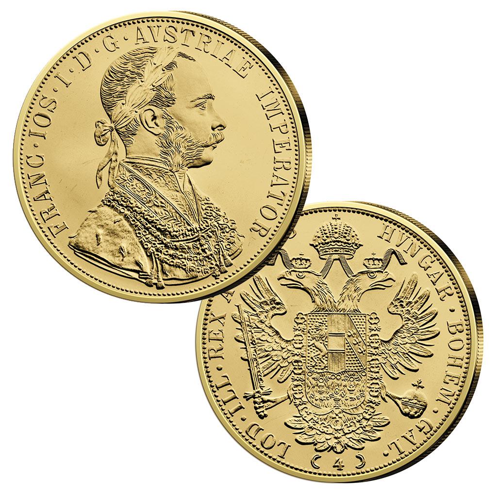 Kaisergold Franz Joseph I Modernes Gold Mit Historischen
