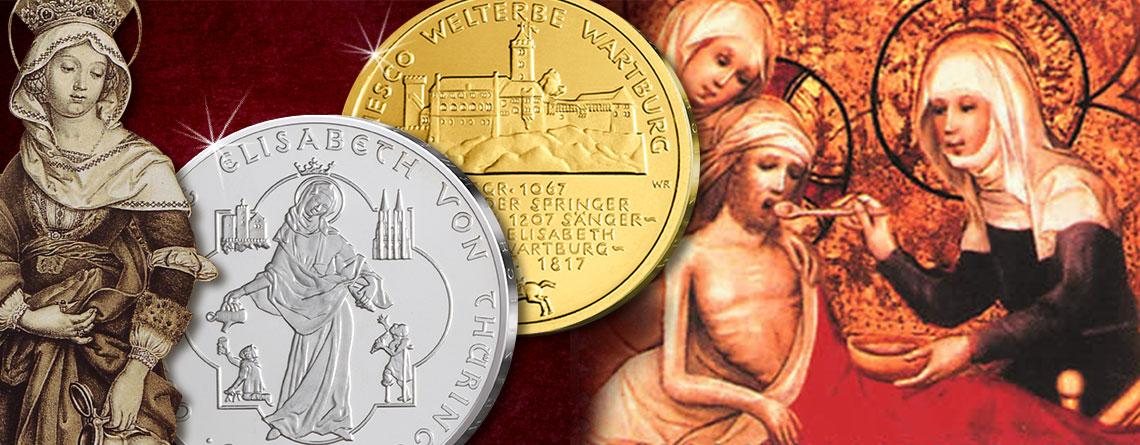 19. November - Gedenktag und Namenstag der Heiligen Elisabeth von Thüringen
