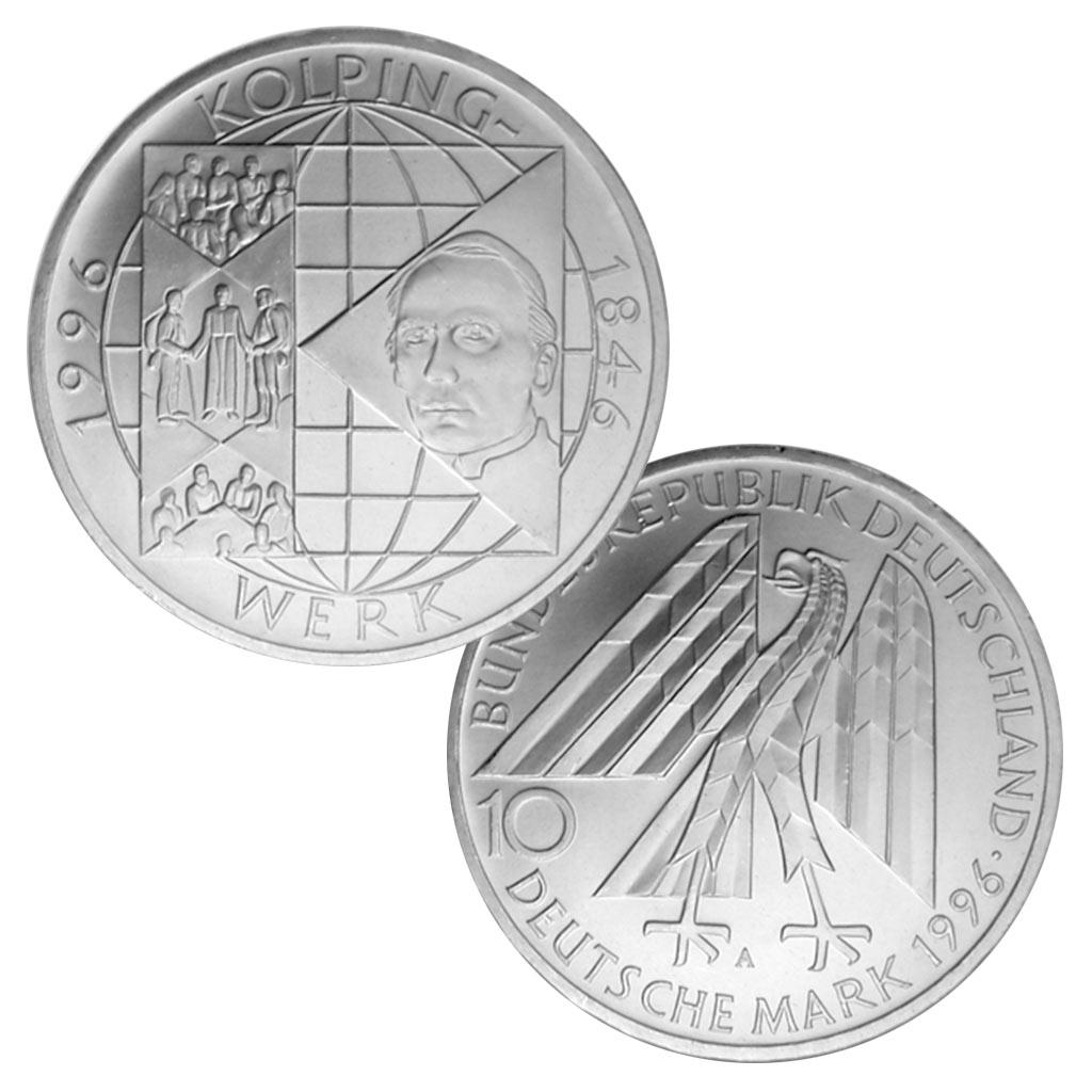 Brd 10 Dm Gedenkmünzen 1994 1997 Primus Münzen Blog