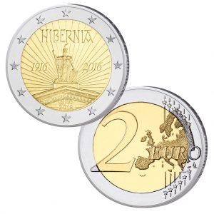 Irland 2 Euro-Gedenkmünze 2016 Osteraufstand
