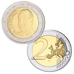 Spanien 2 Euro Kursmünze 2005