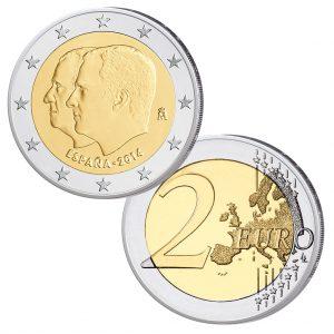 Spanien 2 Euro-Gedenkmünze 2014 – Proklamation König Felipe VI.